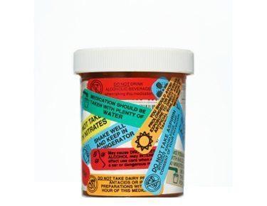 medicine warning labels on prescription drug