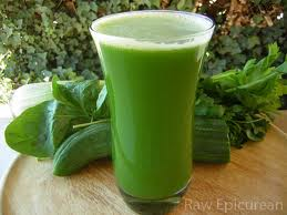 spinach and carrot booster