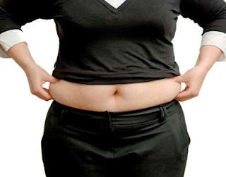 type two diabetes woman holding hips