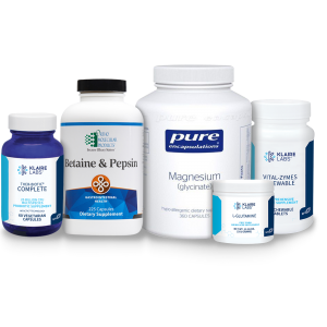 Acid reflux and low stomach acid support pack